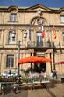 Hôtel de ville d'Aix en Provence (Jour du marché aux fleurs)