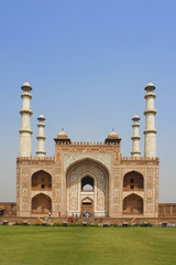 Entrance to Sikandra, Tomb of Akbar (Mughal emperor), at Agra, I