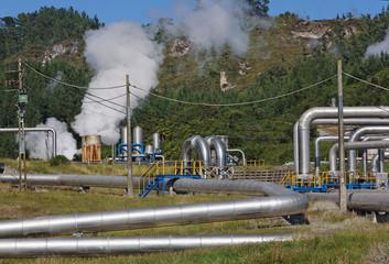 Erdwärme Kraftwerk in Neuseeland
