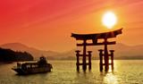 Japonia – zachód słońca w kolorach orientu