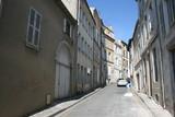 Fototapety Une rue du centre-ville de Niort (Poitou-Charentes, Deux-Sèvres)
