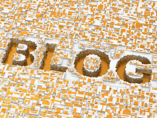 Blog. Background. 3d