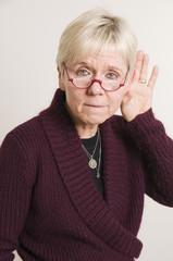 hard of hearing gesture