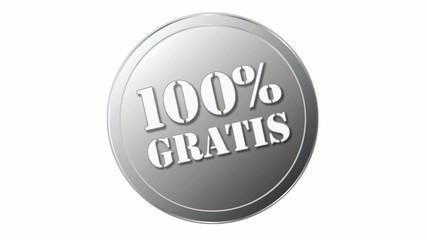 Siegel oder Stempel mit 100% Gratis