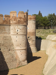Mota's Castle in Medina del Campo, Valladolid,Spain