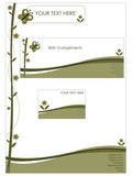stationery set - nature poster
