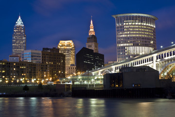Skyline of Cleveland