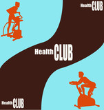 Health Club Flyer poster