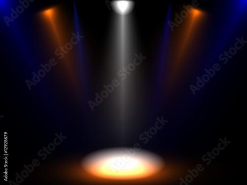 Fotobehang Licht, schaduw weißpunkt
