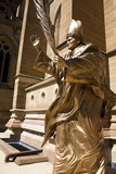 Statue of Pope John Paul the Great poster