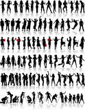 Fototapety Big collection of silhouette