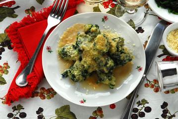 Ravioli gnudi - Primi piatti tipici della toscana