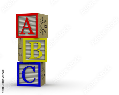 ABC Blocks Overlapping