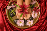 Fototapety Footcare and pampering