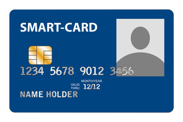 Closeup of Smart Card