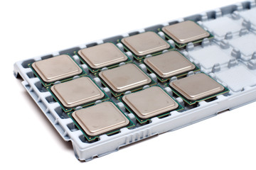 Processors on a substrate