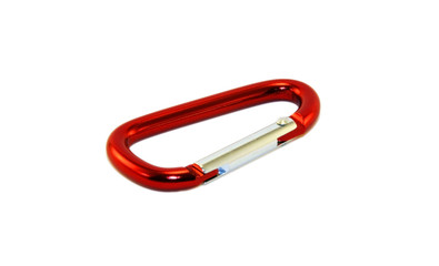 Isolated Karabiner