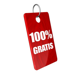 100% Gratis Icon