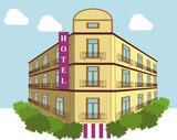 Hotel dia poster