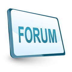 forum icon on screen