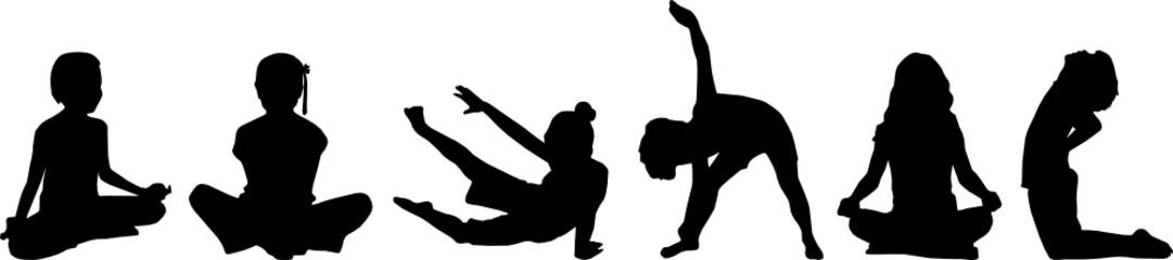 child's yoga