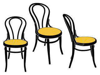 vienna cafe chair