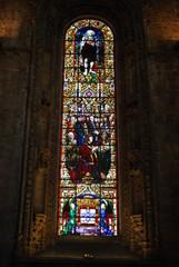 Hieronymites Monastery Chapel Vitral in Lisbon