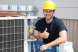 Air Condioner Repairman Thumbsup - 12970634