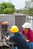 Air Conditioning Repair - Teamwork poster