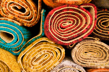 Colored Rugs