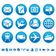 Mail & transportation icons