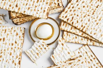 Israeli Matzah - jewish bread for celebrating Passover