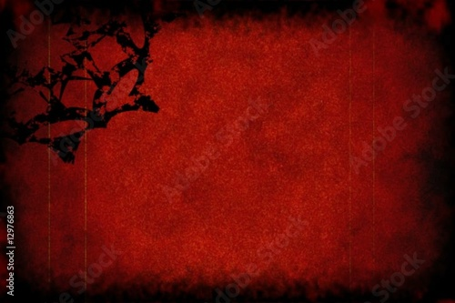Blood red grunge background - digital animation
