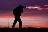image photo laser flux professionnel reflex photographe producti poster