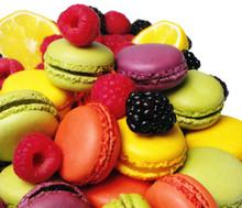 Macarons i framboises et Mures