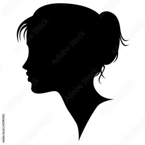 Woman Profile Logo Profil-woman's Profile