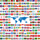 Fototapety Flags from all over the world