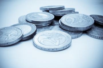 Stapel Kleingeld