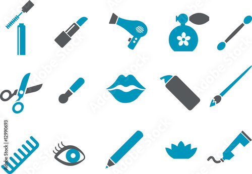 Make-up Icon Set
