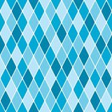 Harlequin winter seamless pattern poster