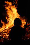 Brand löschen Feuer Flammen Zerstörung Waldbrand poster