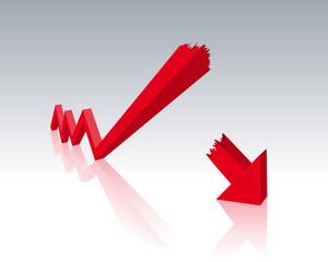 Symbolbild Wirtschaftskrise