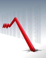 Wirtschaftsabschwung