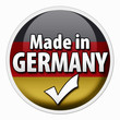 Made in Germany Button