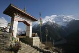 Annapurna monastery poster
