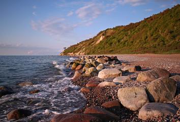 Am Strand von Kloster