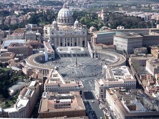 Vatikan, Luftaufnahme