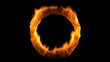 Ring of Fire + Alpha Channel. CG.