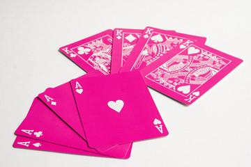 poker de ases y poker de reyes