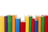 Colorful books border